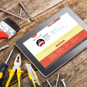 Brian Alred's new website is responsive and social, perfect for the modern mechanic and construction worker.