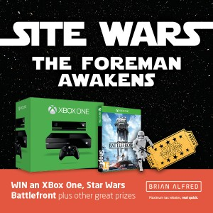 Brian Alfred introduced Site Wars, a Star Wars-themed competition just for contractors in the construction and mechanical trade.