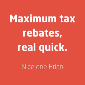 Tax refund services