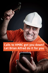 Don't waste time calling HMRC - let Brian Alfred's responsive tax service team do it for you