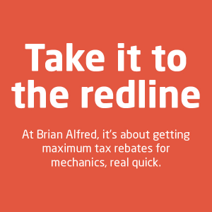 Take it to the Redline with BA - learn more about tax refund services for mechanics with Brian Alfred